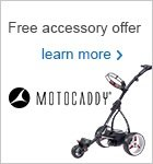 Accessories worth £29.98 with a Motocaddy